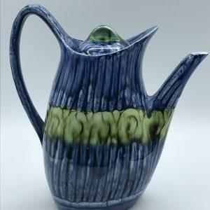 Vintage Welsh Pottery Coffee Pot Portmadoc