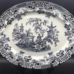 19th Century Canton Meat Plate By Hammersley