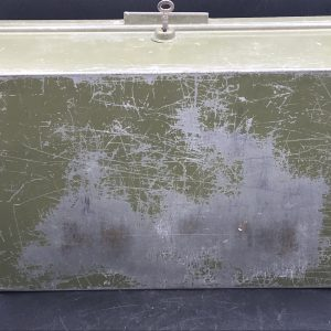 Vintage Army Lock Box Foot Locker ?