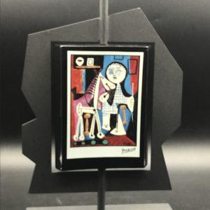 Artis Orbis Goebel Picasso Porcelain & Metal Candlestick Candle Holder