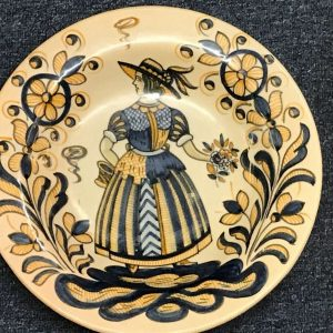 Hand Painted Spanish Pottery Charger Talavera