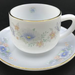 Soojung Opal Glass By MP USA Home Set Cups & Saucers
