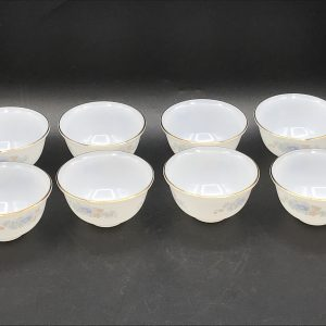 Soojung Opal Glass By MP USA Home Set Eight Bowls